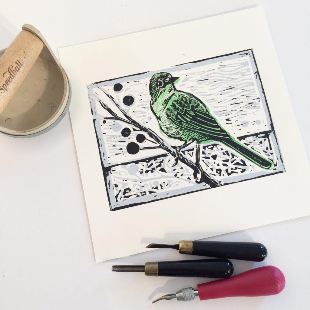 BIRD PRINTS linocut 4028 F 1024x1024 1