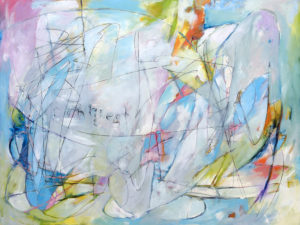 abstract oil painting by Canadian Artist Randy Hryhorczuk